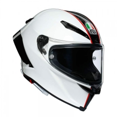 Casque AGV Pista GP RR SCUDERIA Carbon/White/Red - Carbone/Blanc/Rouge