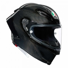 Casque AGV Pista GP RR Glossy Black - Carbone