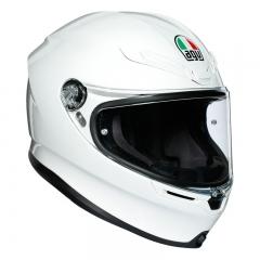 Casque AGV K-6 Mono White - Blanc