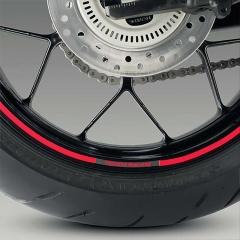 """Liserés de Jantes Honda Racing 17"""" - Rouge"""