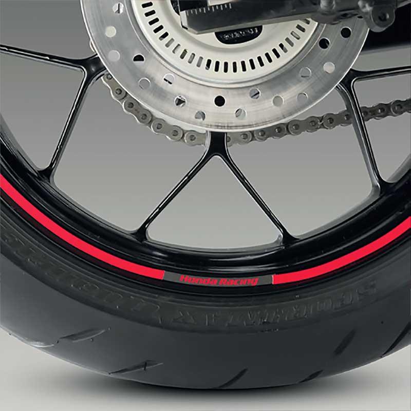 1.Choisissez la Couleur Liserets de Jantes Honda Crosstourer avec des Logos