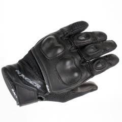Gants cuir Racer FUEL Noir