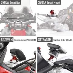 Kit de Fixation Givi 01SKIT pour Smart Bar S900A CB500X 2019