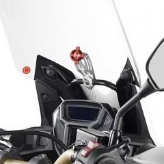 Support aluminium GPS/Smartphone Givi S902A sur tube 11 à 14mm