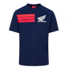 T-shirt HRC Blue - Bleu