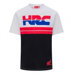 T-shirt HRC Tricolore - Gris/Blanc/Rouge