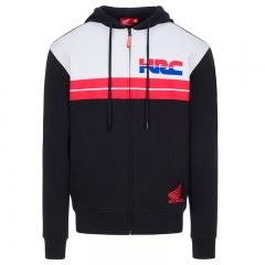 Sweat à Capuche HRC Tricolore - Noir/Blanc/Rouge