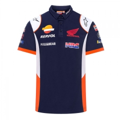 Polo Repsol Replica 2020 - Bleu/Blanc/Orange