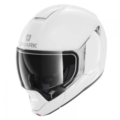 Casque Shark EVOJET BLANK Noir brillant