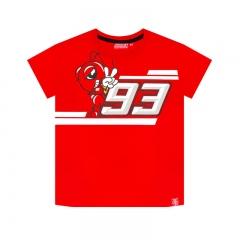 T-shirt Marc Marquez LOGO Enfant - Rouge