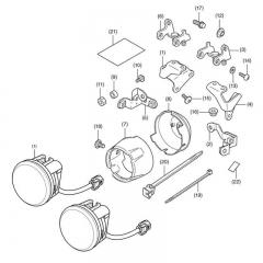 Kit Feux Additionnels X-ADV 750 2021