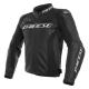Blouson en cuir Dainese Racing 3 noir/noir/noir