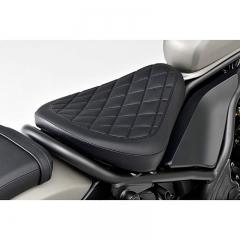Selle Honda custom noire Rebel CMX500