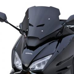 Pare brise Hypersport 35cm Ermax Noir pour Honda Forza 750 2021
