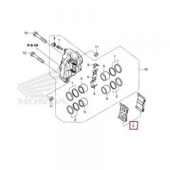 Plaquettes de frein arrière Honda 06435-MGZ-J02