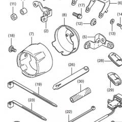 Faisceau pour feux additionnels Honda NC750XEnsemble de fixations pour feux additionnels Honda NC750X