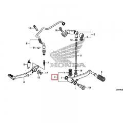 Pédale de changement de vitesse Honda 24720-MGZ-J00