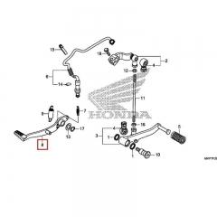 Pédale de frein Honda 46500-KYJ-900