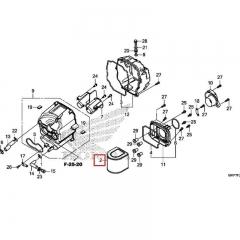 Filtre à air Honda 17211-MKP-J00