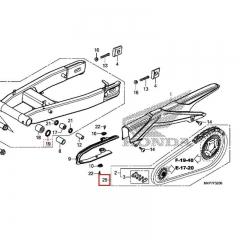 Kit chaine Honda 06406-MKP-D80