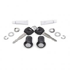 Jeu de cylindres interne 1-key pour valises latérales