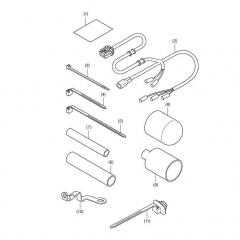 Kit de fixation de poignées chauffantes Honda CB500X