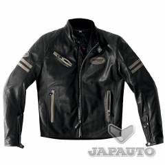 Blouson Cuir Spidi ACE LEATHER Noir