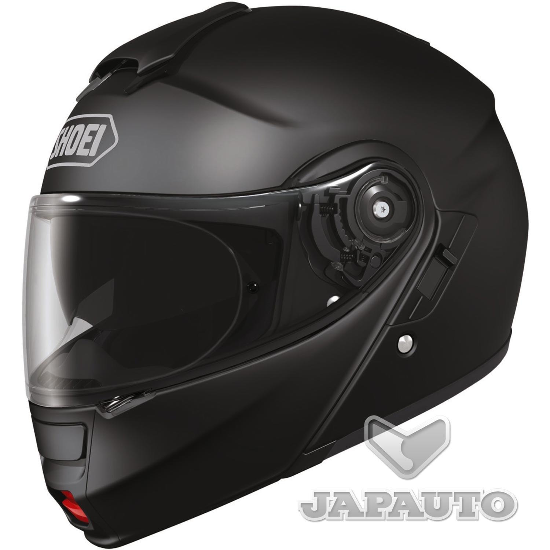 casque modulable shoei neotec noir mat japauto accessoires equipement pilote pour moto et. Black Bedroom Furniture Sets. Home Design Ideas