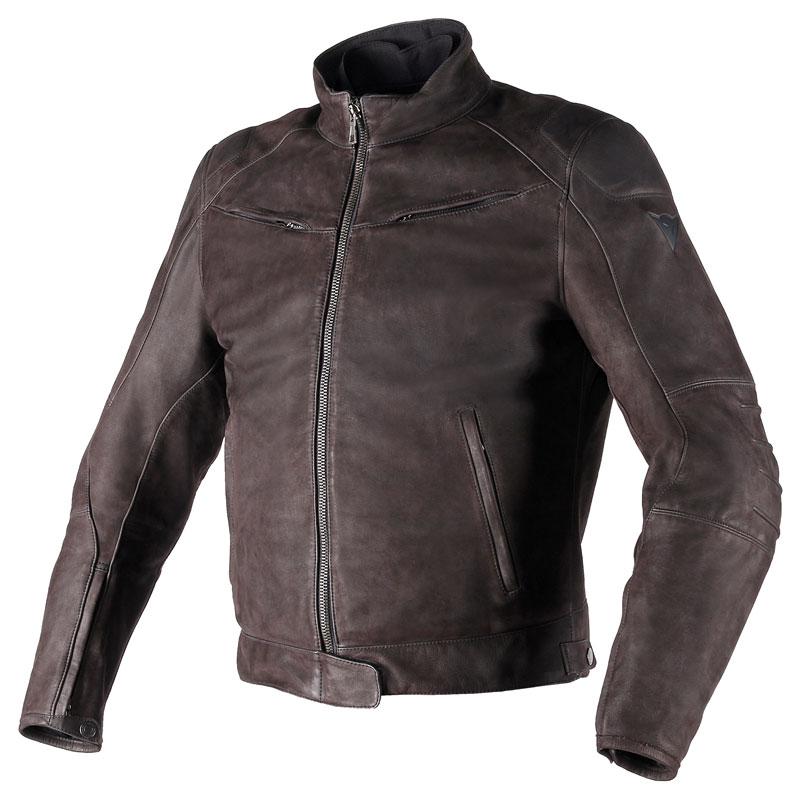 Blouson cuir dainese black hawk