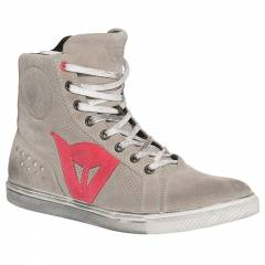 Baskets Dainese STREET BIKER AIR LADY Grey/ Corail