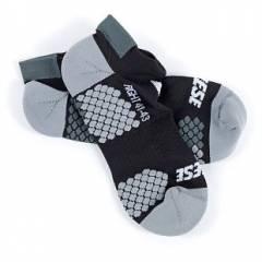 Chaussettes D-CORE FOOTIE SOCK Black/Anthracite