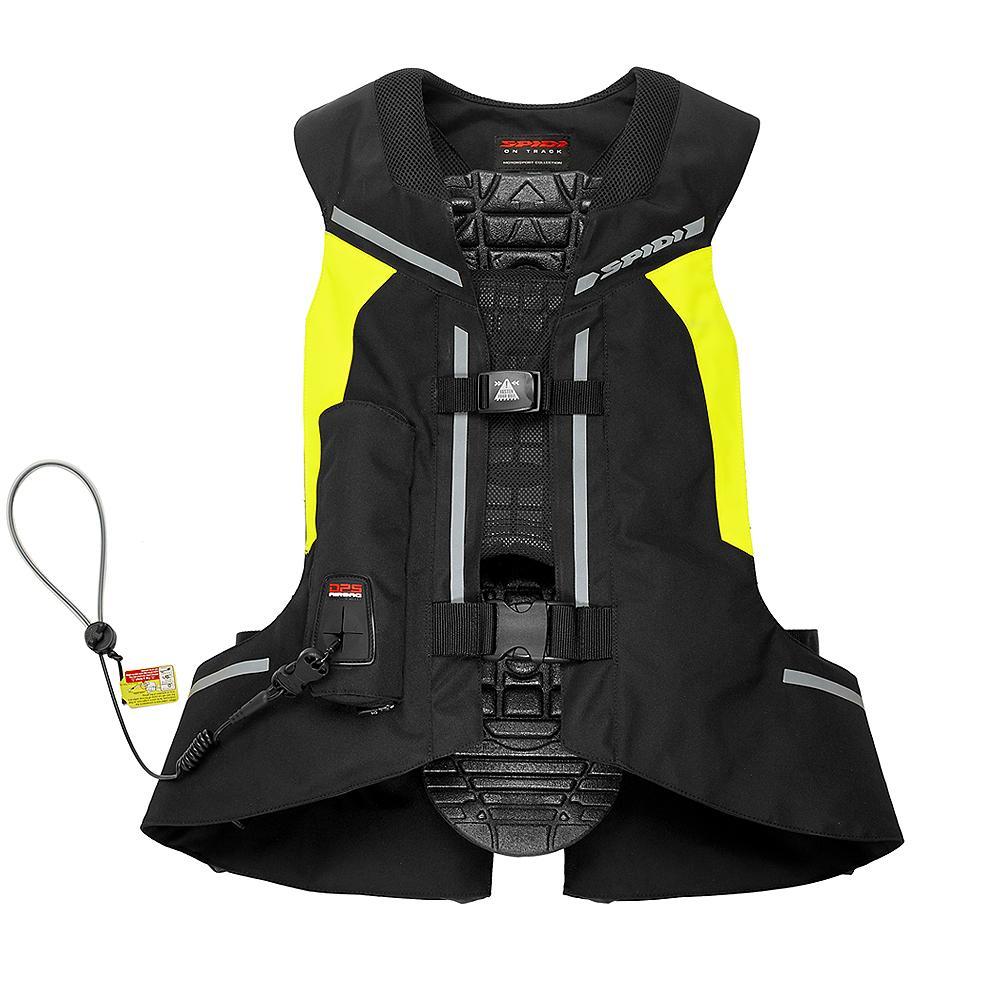 gilet spidi full dps neck jaune gilet airbag spidi. Black Bedroom Furniture Sets. Home Design Ideas