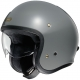 Casque Shoei J.O Gris de 3/4 face