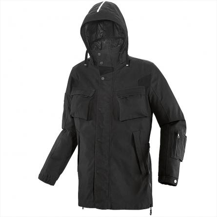 Veste Spidi M-COMBAT Noir avec sa capuche amovible