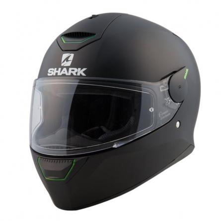 Casque intégral Shark SKWAL Noir Mat de 3/4 face