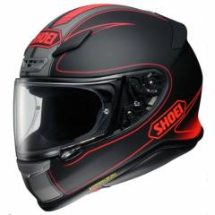 casque Shoei NXR Flagger TC1 3/4 de face