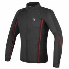 Maillot Dainese D-Core No Wind Thermo Noir/Rouge