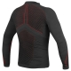 Maillot Dainese D-Core No Wind Thermo Noir/Rouge de dos