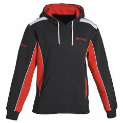 Sweat-shirt Honda Paddock Noir Rouge