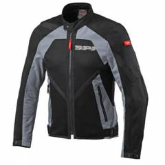 Blouson Spidi Netstream Noir-Gris de face