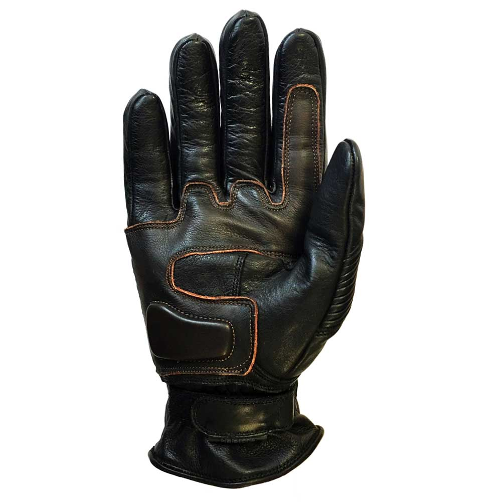 gants helstons monza noir marron gants t gants moto japauto accessoires. Black Bedroom Furniture Sets. Home Design Ideas