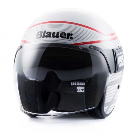 Casque Blauer Pod Graphic B Blanc / Rouge