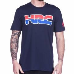 T-shirt Honda HRC Bleu