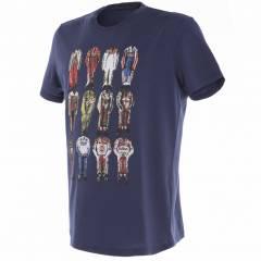 T-Shirt Dainese 12 Champions Navy