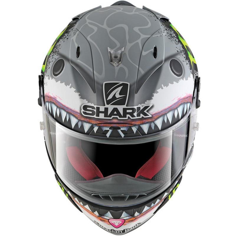 casque shark race r pro lorenzo blanc casque int gral shark japauto accessoires. Black Bedroom Furniture Sets. Home Design Ideas