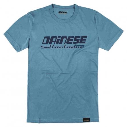 T-shirt Dainese Settantadue bleu
