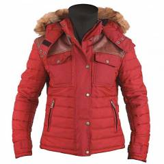 Veste Helstons STUFF Lady - Rouge