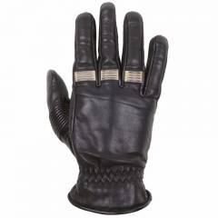 Gants cuir Helstons VELVET Noir/Beige