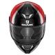 Casque intégral Shark SKWAL-2 Warhen Noir/Rouge