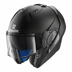 Casque modulable Shark Evo One 2 Noir Mat - Noir Mat